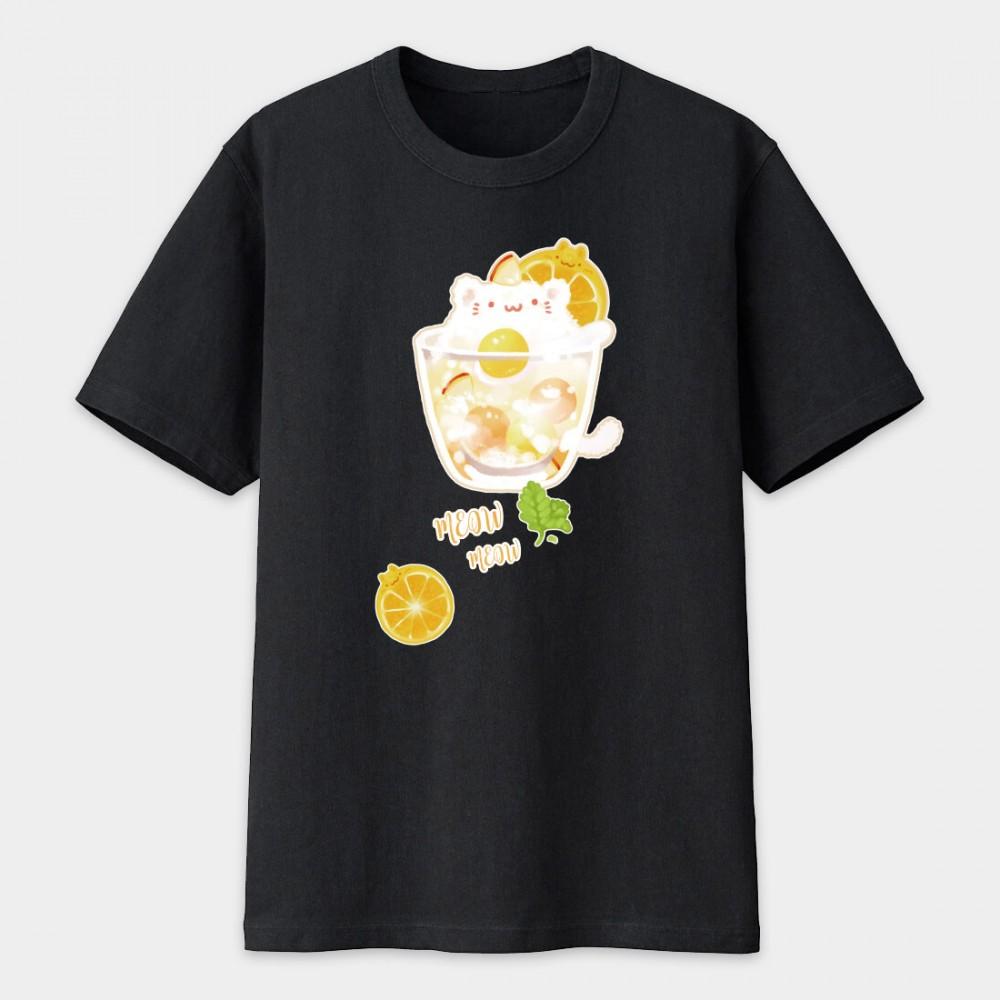 夏日冰球飲料 - 貓咪檸檬冰茶