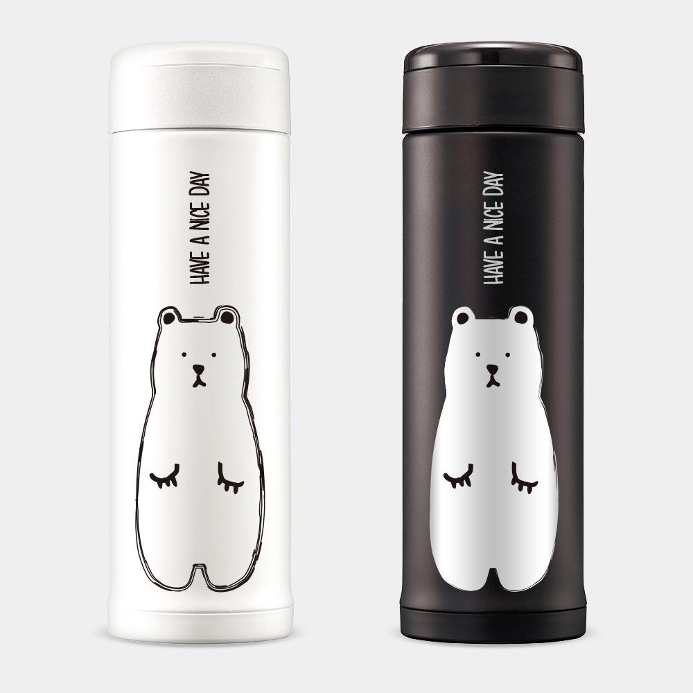 [PUPU] Have A Nice Day白熊 象印不鏽鋼保冷保溫杯
