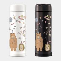 [PUPU] 動物生日派對 象印不鏽鋼保冷保溫杯