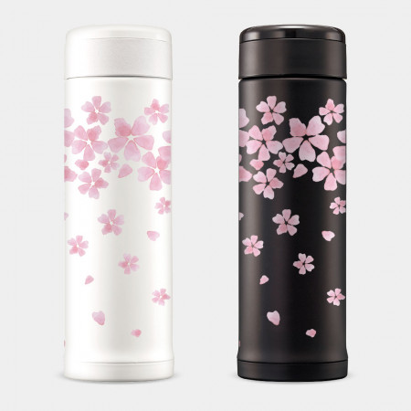 [PUPU] 櫻花散落 象印不鏽鋼保溫杯