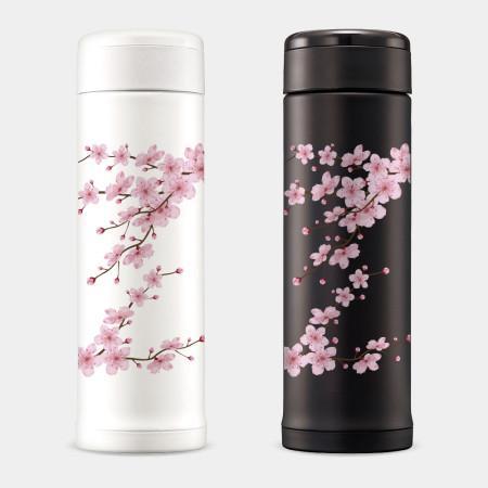 [PUPU] 櫻花 象印不鏽鋼保溫杯