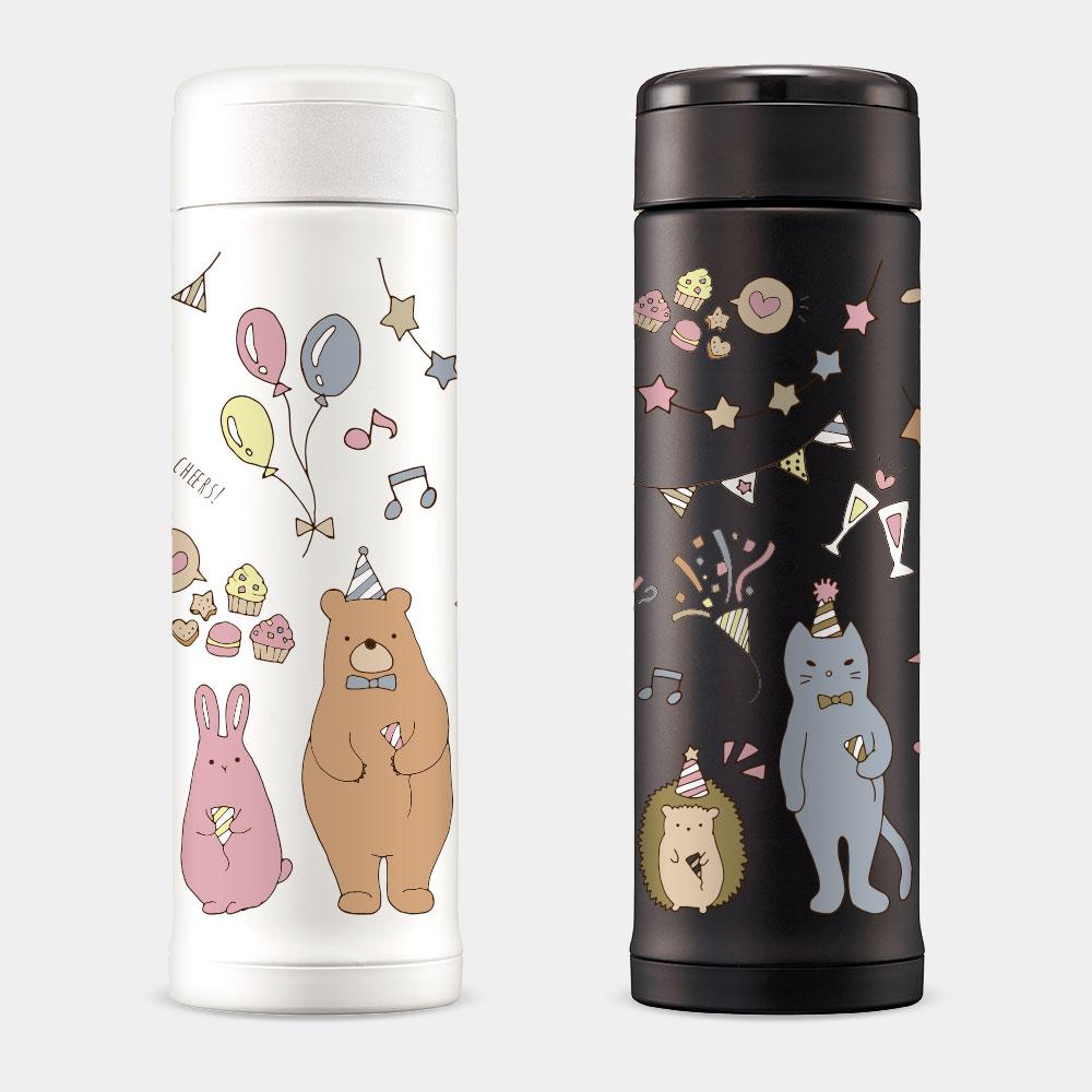 動物生日派對 象印不鏽鋼保冷保溫杯