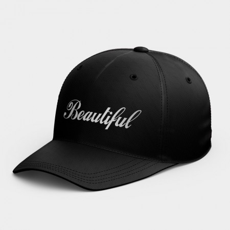 [PUPU] Beautiful  客製化名字韓風鴨舌帽