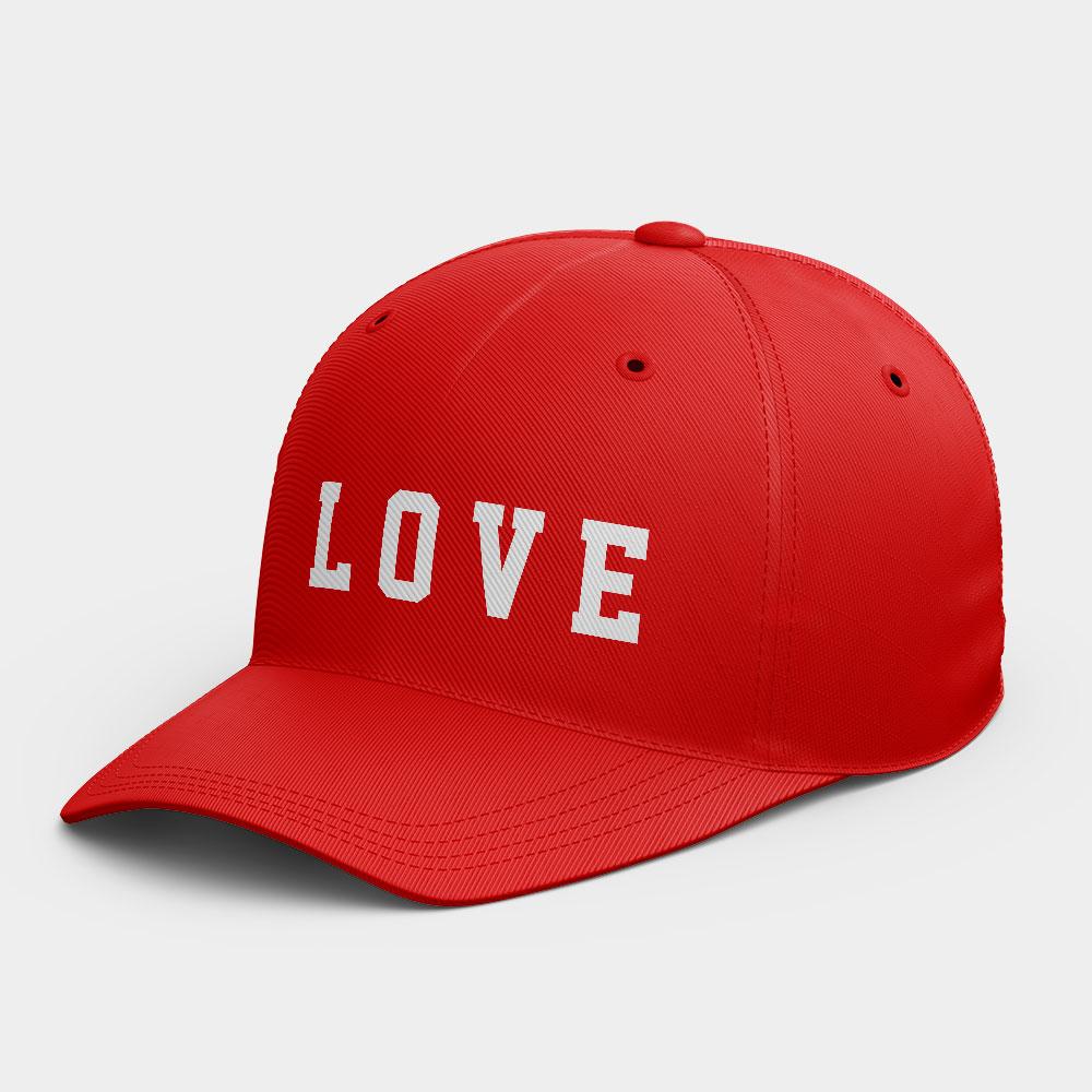 LOVE 客製化文字韓風鴨舌帽
