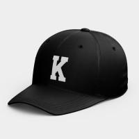 客製化英文字母/幸運數字 韓風鴨舌帽