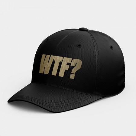 [OTAKU] WTF? 可客製化文字韓風鴨舌帽