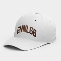 GNNLGB 韓風鴨舌帽 黑灰白黃紅粉 隨機贈送胸章