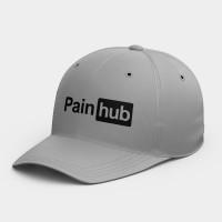 Painhub  客製化英文名字韓風鴨舌帽