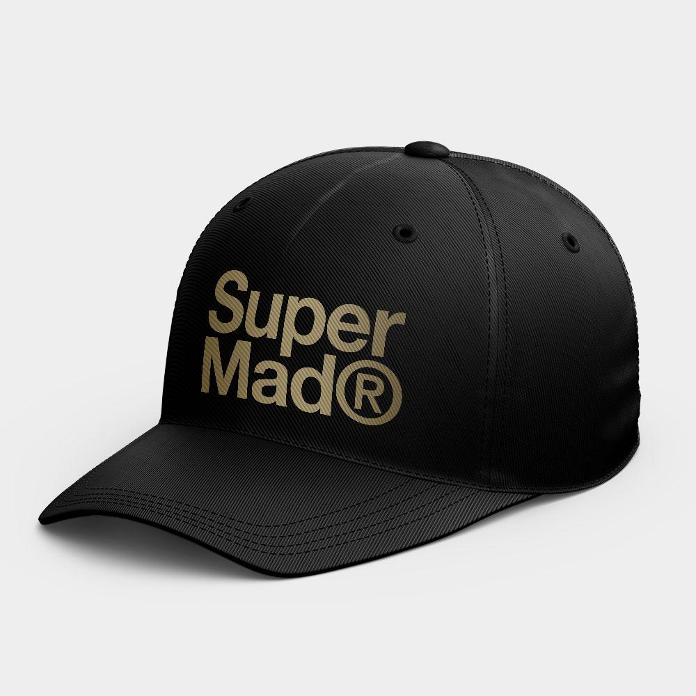 SuperMad 極度瘋狂  韓風鴨舌帽