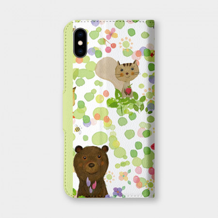 [PUPU] 動物森林 手機翻蓋保護皮套