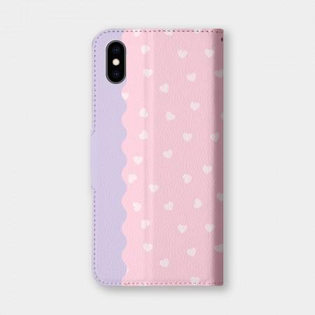 [PUPU] 甜甜心(粉)手機翻蓋保護皮套