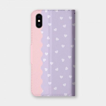 甜甜心(紫)手機翻蓋保護皮套