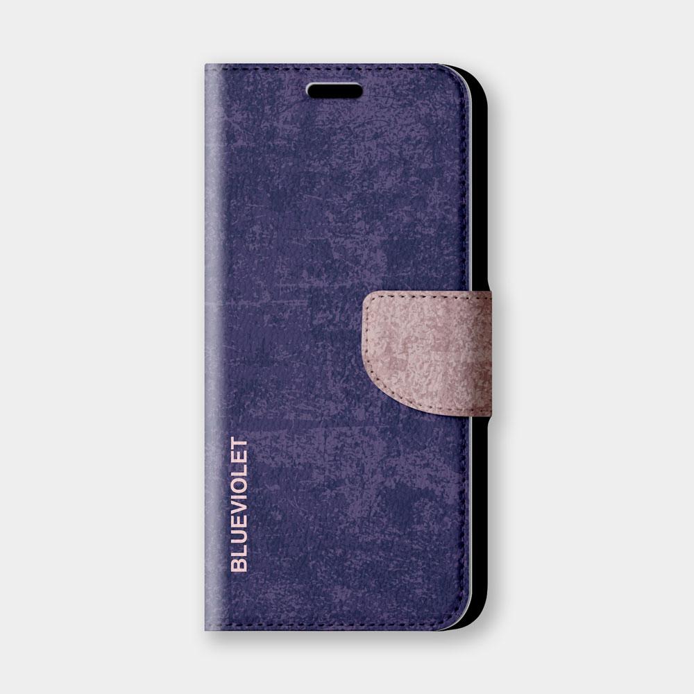 復古風(紫羅蘭)手機翻蓋保護皮套 經典復古質感!超過200種機型全面防護!