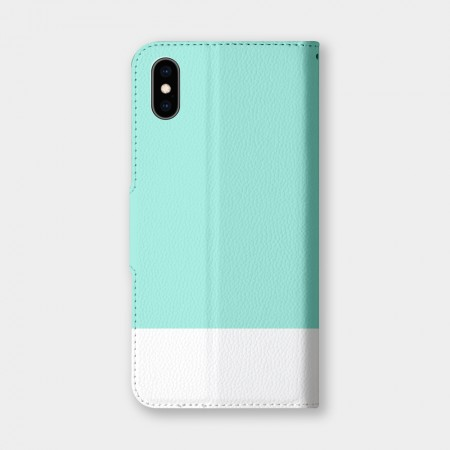 [PUPU] 色票(綠)手機翻蓋保護皮套