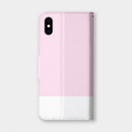 [PUPU] 色票(淡粉)手機翻蓋保護皮套
