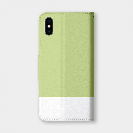 色票(草綠)手機翻蓋保護皮套