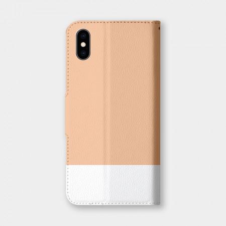 [PUPU] 色票(橘)手機翻蓋保護皮套