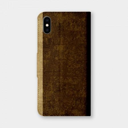 [PUPU] 復古風(深棕)手機翻蓋保護皮套