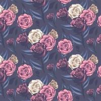 紫玫瑰手機翻蓋保護皮套