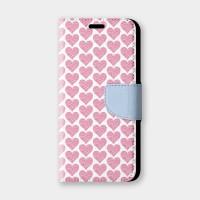 粉嫩愛心手機翻蓋保護皮套 情人節推薦,超過200種機型全面防護!