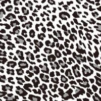 黑色豹紋手機翻蓋保護皮套