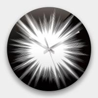 創意掛鐘:速度線 鏡面壓克力創意掛鐘