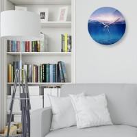 創意掛鐘:海洋 鏡面壓克力創意掛鐘