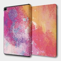 七彩噴漆 iPad mini 多角度翻蓋皮套