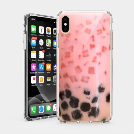 珍珠草莓 iPhone 耐衝擊防摔保護殼