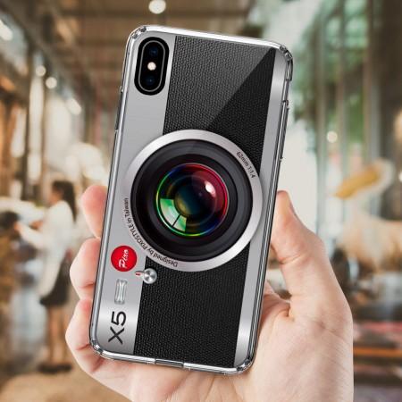 [CTRL+Z] 經典銀色相機 iPhone 耐衝擊保護殼