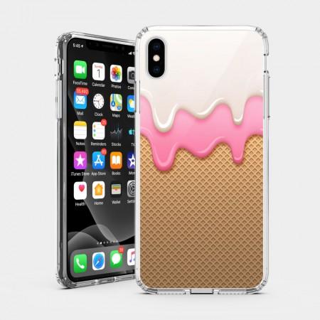 草莓冰淇淋 iPhone 耐衝擊防摔保護殼