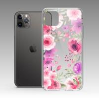 浪漫繁花 iPhone 耐衝擊防摔保護殼 贈送胸章或蝴蝶結緞帶