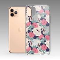 復古花卉 iPhone 耐衝擊防摔保護殼 贈送胸章或蝴蝶結緞帶