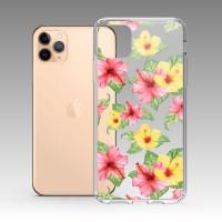 扶桑花 iPhone 耐衝擊防摔保護殼 贈送胸章或蝴蝶結緞帶