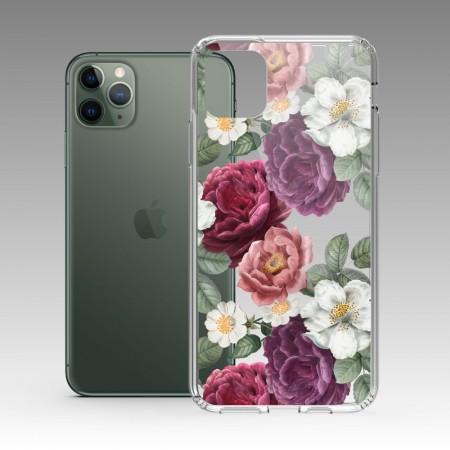 復古花卉 iPhone 耐衝擊防摔保護殼