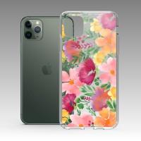 水彩花 iPhone 耐衝擊防摔保護殼