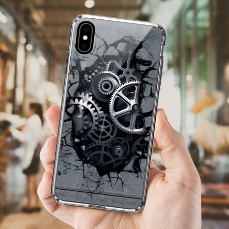 機械 iPhone 耐衝擊防摔保護殼