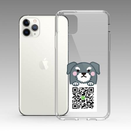 [PUPU] 灰色趴趴狗 iPhone 耐衝擊保護殼