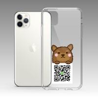 咖啡趴趴狗 iPhone 耐衝擊防摔保護殼 可客製化LINE/FB/IG QR CODE!
