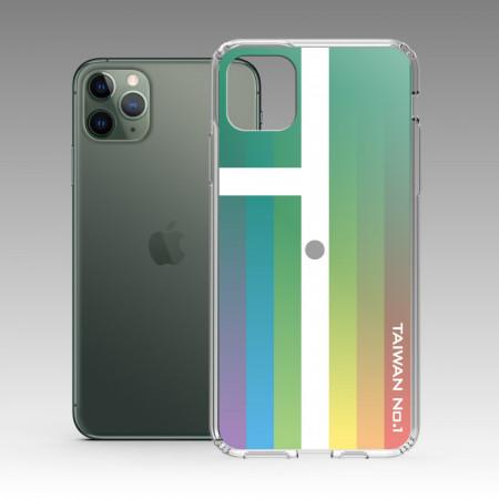 TAIWAN 金牌-彩虹版 iPhone 耐衝擊保護殼