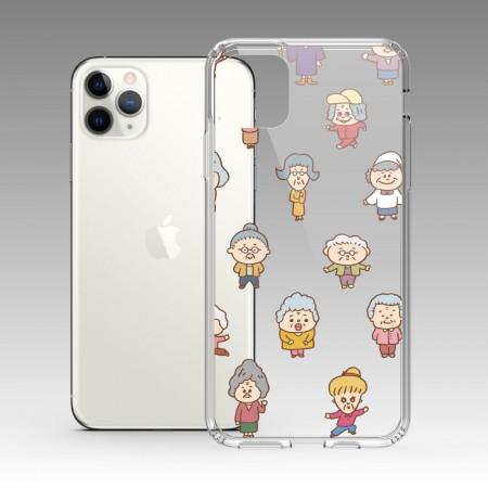 [PUPU] 歐巴桑 iPhone 耐衝擊保護殼