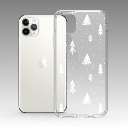 [PUPU] 白色聖誕樹 iPhone 耐衝擊保護殼