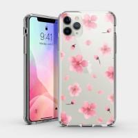 大朵櫻花 iPhone 耐衝擊防摔保護殼 粉嫩櫻花季!贈送手機氣囊支架