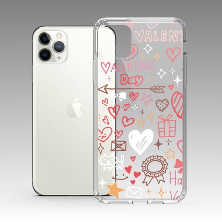 [PUPU] 塗鴉愛心 iPhone 耐衝擊保護殼