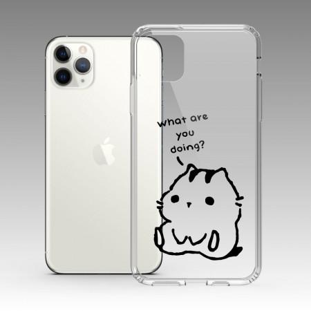 純白櫻花 iPhone 耐衝擊防摔保護殼