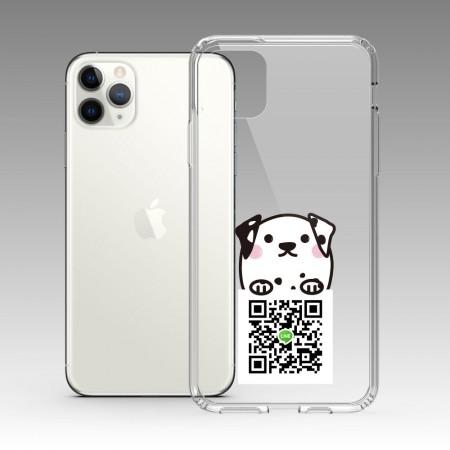 斑紋趴趴狗 iPhone 耐衝擊防摔保護殼