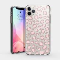 粉紅豹紋 iPhone 耐衝擊防摔保護殼
