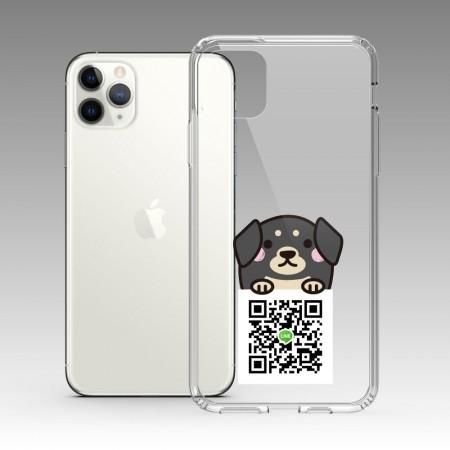 [PUPU] 深灰趴趴狗 iPhone 耐衝擊保護殼