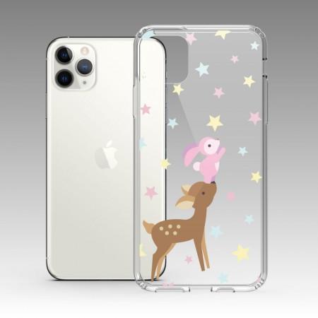 兔兔摘蘋果 iPhone 耐衝擊防摔保護殼
