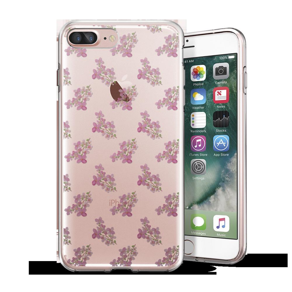 iPhone 5/6/7/Plus 原創保護殼:花串
